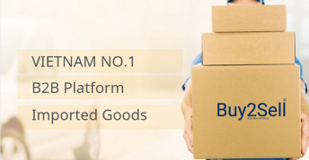 Review: Buy2sell Vietnam is the B2B platform with the largest source of goods from international brands